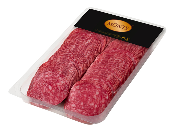 Fine Minced Cured Sausage III in Protective Atm.